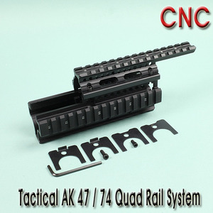 Tactical AK Quad Rail System / CNC