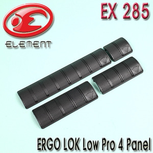 ERGO LOK Low Pro 4 Panel