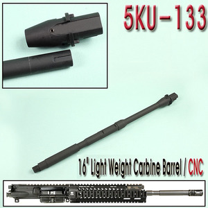 "16"" M4 Light Weight Carbine Barrel / CNC"