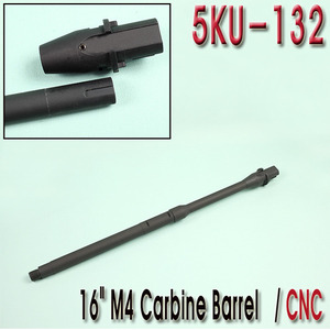 "16"" M4 Carbine Barrel / CNC"