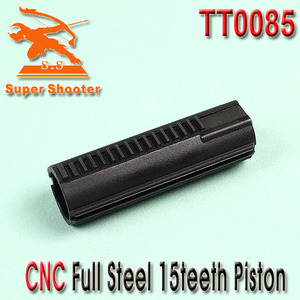 CNC Full Steel 15teeth Piston