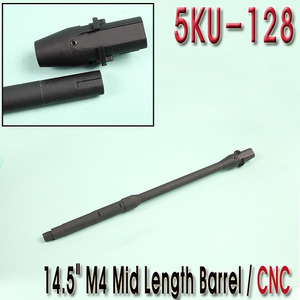 "14.5"" M4 Mid Length Barrel / CNC"