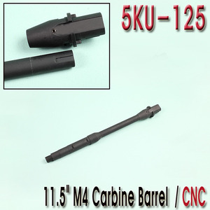 "11.5"" M4 Carbine Barrel / CNC"