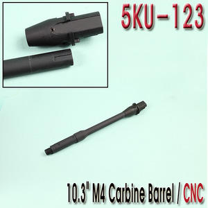 "10.3"" M4 Carbine Barrel / CNC"
