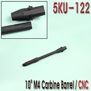 "10"" M4 Carbine Barrel / CNC"