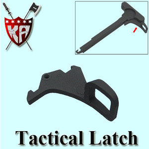 Tactical Latch for M4 Charging Handle