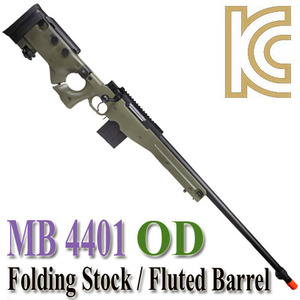 MB 4401 OD / Folding Stock & Fluted Barrel