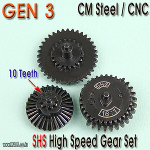 Gen3 High Speed Gear set / 10 teeth