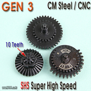 Gen3 Super High Speed Gear Set / 10 teeth