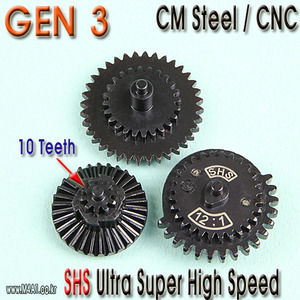 Gen3 Ultra Super High Speed Gear Set / 10 teeth