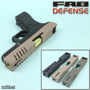 FAB Tactic-Skin G17 Polymer Slide Cover / TAN