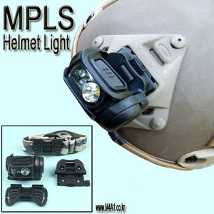 MPLS Helmet Light