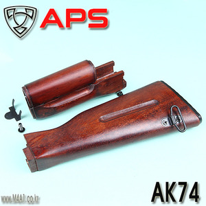 AK74 Wooden Set