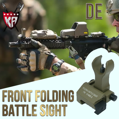 Folding Battle Front Sight / Troy Type (DE)