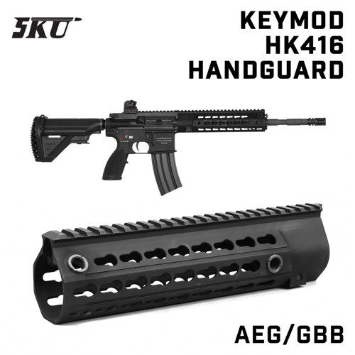 "KeyMod 10.5"" Rail for HK416"