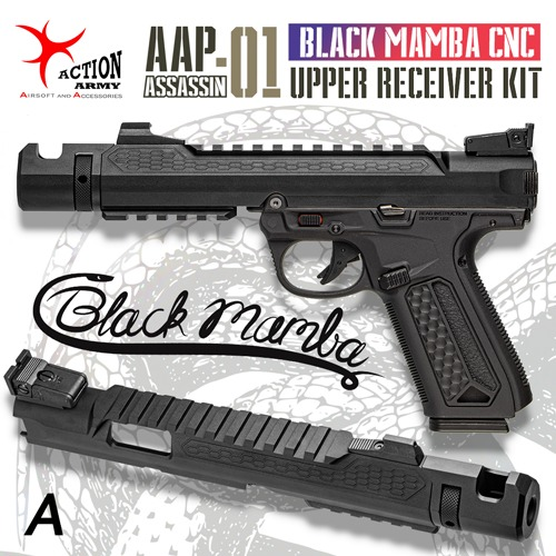 AAP-01 Black Mamba CNC Upper Receiver Kit / A type