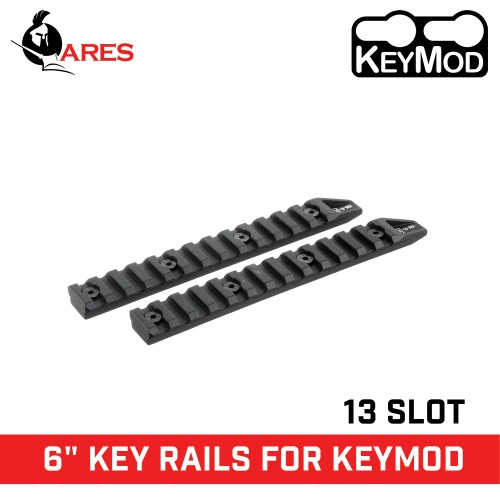 "6"" Key Rail System For Keymod"