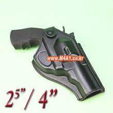 "Artificial Leather Revolver Holster / 2.5"", 4"""