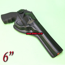 Artificial Leather Revolver Holster / 6""